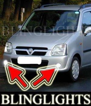 2000-2007 VAUXHALL AGILA FOG LIGHTS driving lamp opel 2001 2002 2003 2004 2005 2006