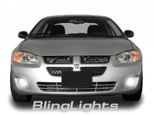 2002-2006 DODGE STRATUS SXT SEDAN XENON FOG LIGHTS DRIVING LAMPS LIGHT LAMP KIT 2003 2004 2005