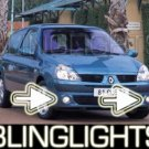2001-2008 RENAULT CLIO II FOG LIGHTS DRIVING LAMPS 2002 2003 2004 2005 2006 2007