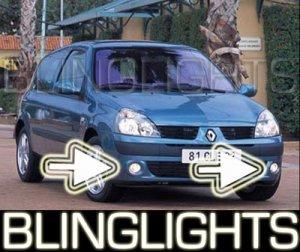 2001-2008 RENAULT CLIO II FOG LIGHTS DRIVING LAMPS 2002 2003 2004 2005 2006 2007