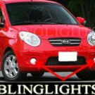 2004-2009 KIA PICANTO FOG LIGHTS DRIVING LAMPS LAMP LIGHT KIT ice 2 3 morning 2005 2006 2007 2008
