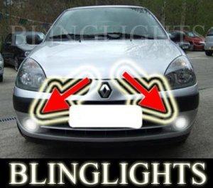 RENAULT CLIO II 1.2 8V FOG LIGHTS driving lamps grande