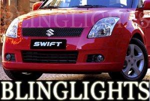 2004-2008 SUZUKI SWIFT MK4 XENON FOG LIGHTS lamps 2005 2006 2007