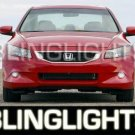 2008 2009 HONDA ACCORD COUPE SEDAN XENON FOG LIGHTS DRIVING LAMPS LIGHT LAMP KIT