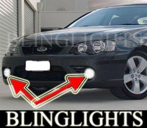 2008 2009 FORD FALCON XR6 BUMPER FOG LIGHTS driving lamps