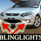 2008 2009 FORD FALCON UTE FOG LIGHTS PAIR lamp xr6 turbo xr8