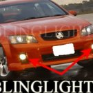 2006-2009 HOLDEN COMMODORE VE FOG LIGHTS driving lamps 2007 2008