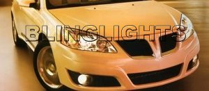2009.5 Pontiac G6 Xenon Fog Lights Driving Lamps Kit sedan coupe convertible