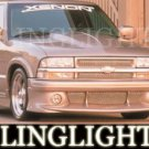 1998-2007 GMC SONOMA XENON BODY KIT FOG LIGHTS LAMPS 1999 2000 2001 2002 2003 2004 2005 2006