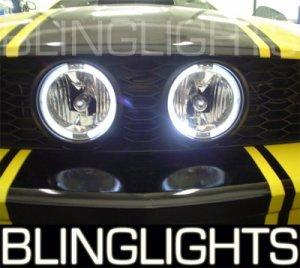 2005-2009 FORD MUSTANG XENON GRILL FOG LIGHTS PAIR lamps gt convertible cal special gt500 2007 2008