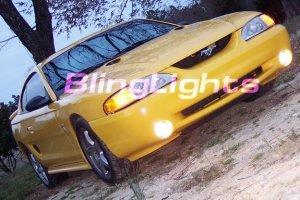 1994-1998 FORD MUSTANG COBRA XENON DRIVING LAMPS FOG LIGHTS 1995 1996 1997