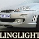 2000-2004 FORD FOCUS EREBUNI BODY BUMPER FOG LIGHTS DRIVING LAMPS LIGHT LAMP KIT 2001 2002 2003