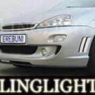 2000-2004 FORD FOCUS EREBUNI BODY BUMPER FOG LIGHTS DRIVING LAMPS LIGHT LAMP KIT 2001 2002 2003