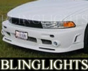 1999-2003 MITSUBISHI GALANT EREBUNI BODY FOG LIGHTS DRIVING LAMPS LIGHT LAMP KIT 2000 2001 2002