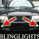 1997-2002 AUDI S4 FOG LIGHT driving lamp b5 8d saloon avant 1998 1999 2000 2001