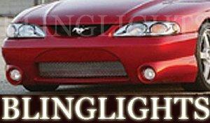 1994-1998 FORD MUSTANG EREBUNI BODY KIT FOG LIGHTS LAMPS 1995 1996 1997
