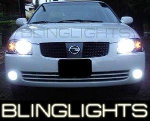 2002-2006 NISSAN SENTRA SE-R SPEC-V FOG LIGHTS DRIVING LAMPS LIGHT SER LAMP KIT 2003 2004 2005