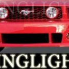 2005-2009 FORD MUSTANG ROUSH BODY KIT FOG LIGHTS LAMPS 2006 2007 2008