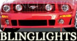 2005-2009 FORD MUSTANG ROUSH BODY KIT FOG LIGHTS LAMPS 2006 2007 2008