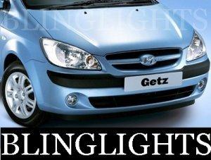 2002-2009 HYUNDAI GETZ LED FOG LIGHTS DRIVING LAMPS 2003 2004 2005 2006 2007 2008
