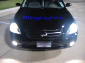2002 2003 2004 NISSAN ALTIMA XENON FOG LIGHTS LAMPS LIGHT LAMP KIT 2.5 2.5S 3.5 3.5SE 3.5SL S SE SL