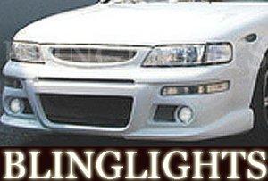 1995-1999 NISSAN MAXIMA EREBUNI BODY KIT FOG LIGHTS DRIVING LAMPS LIGHT LAMP 1996 1997 1998