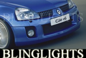 2001-2005 RENAULT CLIO V6 FOG LIGHTS lamps sport 2002 2003 2004