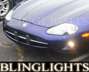 1997-2006 JAGUAR XK FOG LIGHTS driving lamps xk8 xkr 1998 1999 2000 2001 2002 2003 2004 2005