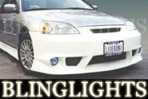 2001-2003 HONDA CIVIC EREBUNI BODY KIT FOG LIGHTS LAMPS 2002