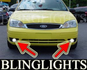 2005-2007 FORD FOCUS ZX3 SE FOG LIGHTS driving lamps 2006