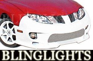 2003-2007 PONTIAC SUNFIRE AAS BODY KIT FOG LIGHTS LAMPS 2004 2005 2006