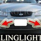 2000-2003 NISSAN SENTRA GXE FOG LIGHTS driving lamps 2001 2002