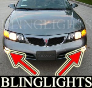 2000-2005 PONTIAC BONNEVILLE FOG LIGHTS driving lamp se sle 2001 2002 2003 2004