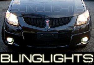 2005 2006 2007 2008 PONTIAC VIBE XENON FOG LIGHTS DRIVING LAMPS LIGHT LAMP KIT 05 06 07 08