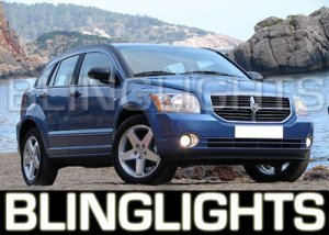 2007 2008 2009 2010 DODGE CALIBER XENON FOG LIGHTS DRIVING LAMPS LIGHT LAMP KIT SE SX SXT R/T
