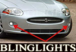 2007 2008 2009 JAGUAR XK FOG LIGHTS driving lamps 4.2 xkr