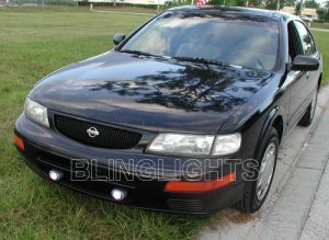 1995 1996 1997 1998 1999 Nissan Maxima Xenon Fog Lights Driving Lamps Light Lamp Kit 95 96 97 98 99