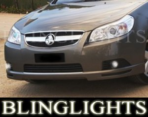 2006-2009 HOLDEN EPICA FOG LIGHTS LAMPS PAIR cdx cdxi 2007 2008