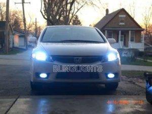 2009 HONDA CIVIC XENON FOG LIGHTS DRIVING LAMPS LIGHT LAMP KIT COUPE SEDAN HYBRID SI 09