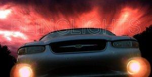 1996-2000 CHRYSLER SEBRING CONVERTIBLE XENON FOG LIGHTS DRIVING LAMPS LIGHT LAMP KIT 1997 1998 1999