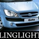 2002-2009 HYUNDAI GETZ LED FOG LIGHTS DRIVING LAMPS 2003 2004 2005 2006 2007 2008