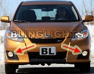 2009 2010 TOYOTA MATRIX ANGEL EYES FOG LIGHTS HALOS DRIVING LAMPS HALO LIGHT EYE LIGHT KIT