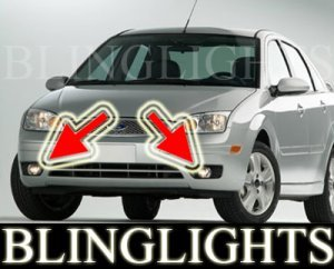 2005-2007 FORD FOCUS ZX5 S LED BUMPER FOG LIGHTS PAIR DRIVING LAMPS LAMP LIGHT KIT 2006