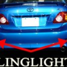 2009 TOYOTA COROLLA REAR FOG LIGHTS lamps le xle s xrs