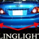 2009 TOYOTA COROLLA REAR FOG LIGHTS lamps le xle s xrs