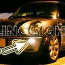 2005-2008 MINI COOPER CONVERIBLE R52 UPPER XENON FOG LIGHTS DRIVING LAMPS KIT 2006 2007