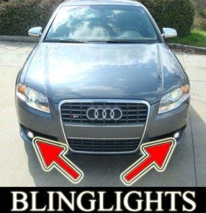 2005-2009 AUDI S4 FOG LIGHTS driving lamps b7 saloon avant 2006 2007 2008