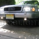 1996-2000 Audi A3 Xenon Fog Lights Driving Lamps Kit 1997 1998 1999