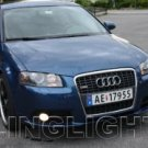 2008 2009 2010 Audi A3 Xenon Fog Lights Driving Lamps Kit