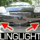 2003 2004 HYUNDAI TIBURON COUPE XENON FOG LIGHTS DRIVING LAMPS LIGHT LAMP KIT BASE GT V6